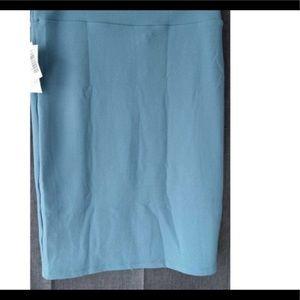 Dresses & Skirts - LulaRoe solid Cassie skirt NWT blue